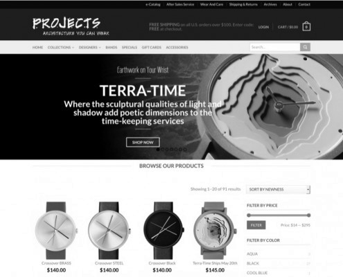 Projects Watches New Design