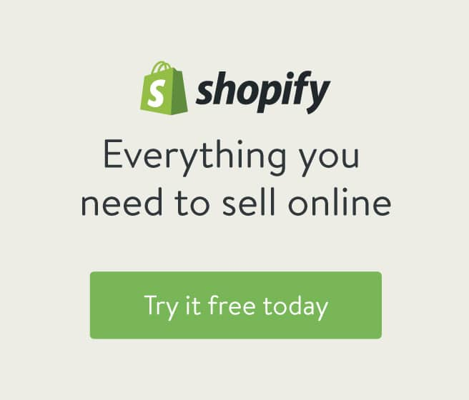 Shopify Ecommerce - Start your FREE trial now!